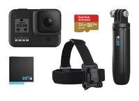 GoPro HERO8 Black + čelenka + shorty + SD karta + akumulátor