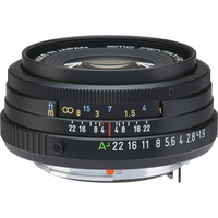 Pentax SMC D FA 43mm f/1,9 Limited černý