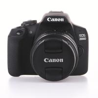 Canon EOS 2000D + 18-55 mm DC bazar