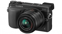 Panasonic Lumix DMC-GX7 + 14-42 mm II černý + 16GB karta + brašna + utěrka!