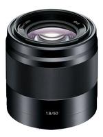 Sony 50mm f/1,8 SEL černý-Zánovní!