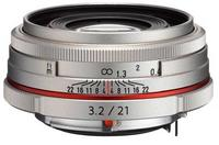 Pentax HD DA 21 mm f/3,2 ED AL Limited stříbrný