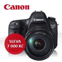 Neváhejte a využijte výrazných slev na profesionální techniku Canon