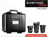 Samyang 14mm,35mm,85mm VDSLR Kit 2 pro Canon