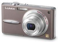 Panasonic DMC-FX30 skořicový