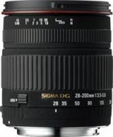 Sigma 28-200 mm F 3,5-5,6 DG MACRO pro Canon