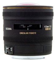 Sigma 4,5mm f/2,8 EX DC Circular Fisheye HSM pro Canon