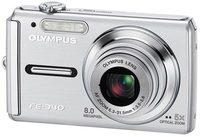 Olympus FE-340 stříbrný + XD 512MB karta!