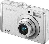 Samsung L201 stříbrný