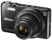 Nikon Coolpix S7000 + 8GB karta + originální pouzdro zdarma!