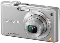Panasonic Lumix DMC-FX40 stříbrný