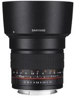 Samyang 85mm f/1,4 pro Fuji X
