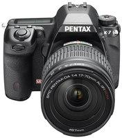 Pentax K-7 + 16-50 mm
