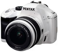 Pentax K-x bílý + 18-55 mm
