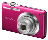 Nikon Coolpix S3000 růžový