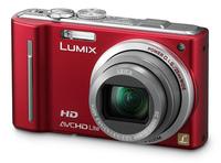 Panasonic Lumix DMC-TZ10 červený