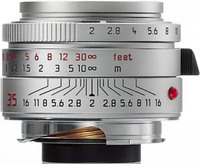 Leica 35mm f/2,0 ASPH SUMMICRON-M stříbrný