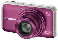 Canon PowerShot SX210 IS fialový