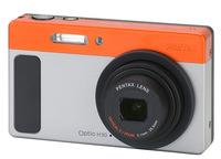 Pentax Optio H90 oranžový