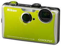 Nikon CoolPix S1100pj zelený