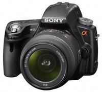 Sony Alpha A55 + 18-55 mm + 55-200 mm + ochranný filtr 55mm zdarma!