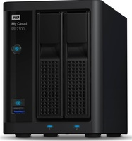 "Western Digital My Cloud Pro PR2100 8TB (2x4TB), 3.5"" NAS, černý"