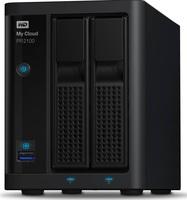 "Western Digital My Cloud Pro PR2100 8TB (2x4TB), 3.5""NAS, černý"
