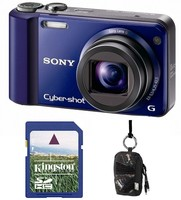Sony CyberShot DSC-H70 modrý + 2GB karta + pouzdro 70J zdarma!