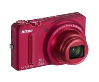 Nikon Coolpix S9100 červený