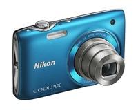 Nikon Coolpix S3100 modrý