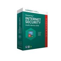 Kaspersky Internet Security multi-device 2016/2017 CZ, 4 zařízení, 1 rok