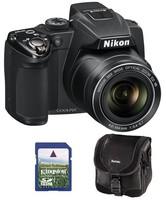 Nikon Coolpix P500 + 8GB karta + brašna Sysc.90!