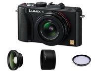 Panasonic Lumix DMC-LX5 + předsádka LWA52E + redukce LA6E + UV filtr Tiffen!