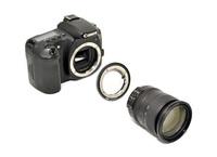 JJC adaptér z Nikon F na Canon EOS