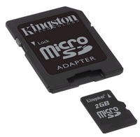 Kingston 2 GB micro SD