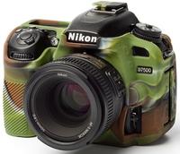 EasyCover silikonové pouzdro pro Nikon D7500 kamufláž