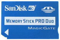 SanDisk MS DUO 1 GB + adapter