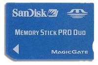 SanDisk MS DUO 2 GB + čtečka