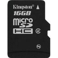 Kingston Micro SD (SDHC Class 4) 16GB karta + adaptér SD