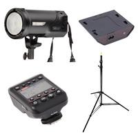 Fomei Digitalis Pro T400 TTL + síťový zdroj + vysílač + stojan (Canon)!