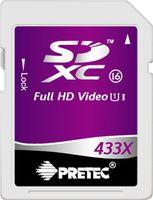 Pretec SDXC 64GB 433x, class 16, UHS-I