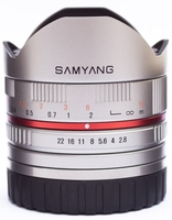 Samyang 8mm f/2,8 UMC rybí oko II pro Sony E černý