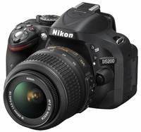 Nikon D5200 + 18-55 mm VR II černý Set pro ČB fotografii