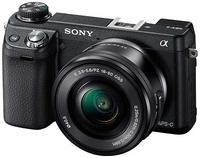Sony NEX-6 černý + 16-50 mm