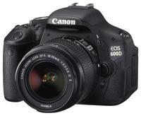 Canon EOS 600D + 18-55 mm IS II + 8GB karta + brašna + filtr UV 58mm!
