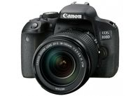 Canon EOS 800D + 18-135mm f/3,5-5,6 IS STM