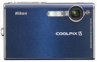Nikon Coolpix S5 modrý