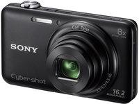 Sony CyberShot DSC-WX60 černý + 8GB karta + pouzdro Lolly Dolly 65 + čistící utěrka!