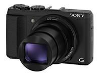 Sony CyberShot DSC-HX50 černý + 16GB Class 10 + originální pouzdro + akumulátor + čistící utěrka!
