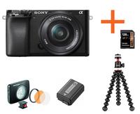 Sony Alpha A6100 + 16-50 mm černý Neváhej a toč!